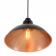 Suspension cuivre bistrot parisien Design Bessemer