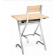 Ensemble pupitre d'écolier ou d'étudiant + Chaise Design Pratique