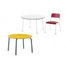 Tables de cantine ou crèche en Formica Design Maternelle