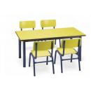 Tables polyvalente et fonctionnelle en Formica pour collectivité Design Réfectoire
