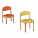 Chaise en Hêtre pour crèche ou maternelle Design Nordic