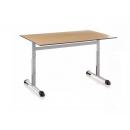 Table à hauteur reglable pour collectivité Design Graduable