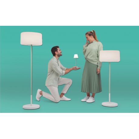 Lampe solaire à planter hauteur ajustable Design Chloe Plant