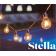 Guirlande 10 ampoules pour extérieur Design Stella