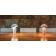Lampe de table sur batterie rechargeable Design Enoki
