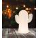 Lampe de table sur batterie rechargeable Design Panchito