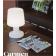 Lampe de table rechargeable ou filaire Design Carmen
