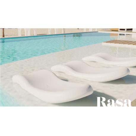 Transat piscine Design Rasa