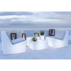 Fauteuil couleurs ou lumineux solaire Design Tarida