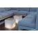 Table lumineuse cubique Design Bora