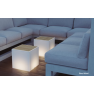 Table lumineuse cubique Design Bora