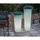Pot lumineux solaire ou filaire Design Ficus