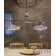 Suspension en céramique peinte à la main Design Alessandria