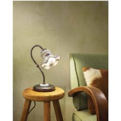 Lampe de chevet en céramique peinte à la main Design Chieti