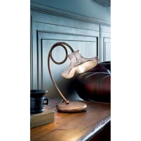 Lampe de chevet en céramique peinte à la main Design Lecco