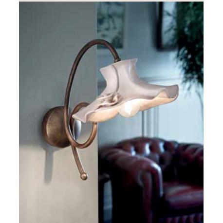 Applique en céramique peinte à la main Design Lecco