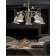Chandelier en céramique peinte à la main Design Pisa