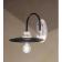 Applique bicolore métal et céramique peinte à la main Design Potenza Diese