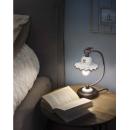 Lampe de chevet en céramique peinte à la main Design Roma