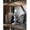 Lampe style bougeoir en céramique peinte à la main Design Sanremo