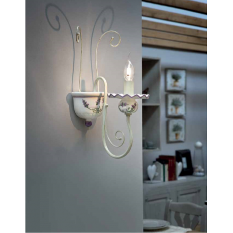 Applique en céramique peinte à la main Design Sanremo Diese