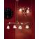 Applique double en verre, feuilles métal et céramique peinte à la main Design Sienna