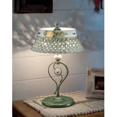 Lampe de table en céramique peinte à la main Design Verona
