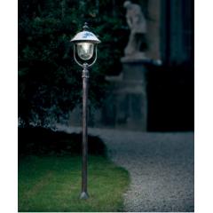 Lampadaire d'extérieur en aluminium peint à la main Design Bari IP43