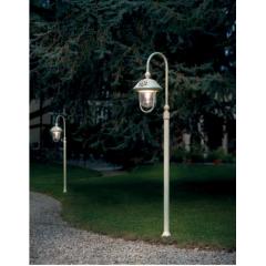 Lampadaire d'extérieur en aluminium peint à la main Design Bari Diese IP43