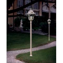 Lampadaire d'extérieur peint à la main Design Gorizia IP43