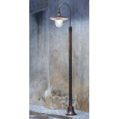 Lampadaire d'extérieur peint à la main Design Latina IP43