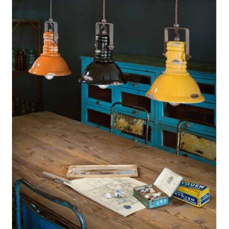 Suspension industrielle en céramique Design Industrial Entrepot