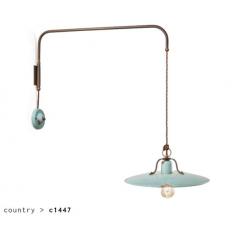 Applique déportée en céramique Design Country