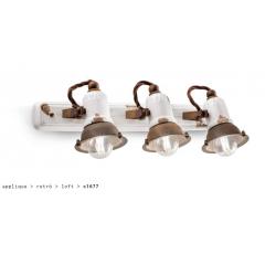 Applique triple en céramique Design Loft