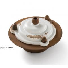 Boite de dérivation en céramique Design Pipes One
