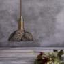 Suspension en céramique Design Kauri Black Clay