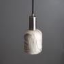 Suspension en céramique Design Osier Marbled