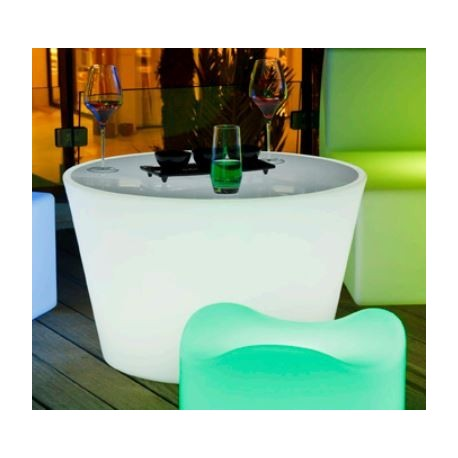 Table basse lumineuse Led
