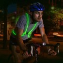 Harnais de sécurité visuelle en fibre optique