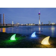 "Lampe design ""Shark"" Requin"
