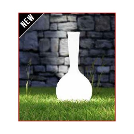 Vase boule lumineux