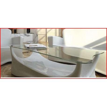 Plateau de verre de s curit pour table hightech diffusion - Plateau de verre pour table basse ...