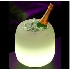 Seau à Champagne lumineux Millésime