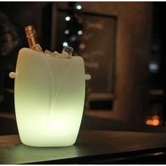 Seau à Champagne lumineux Epernay
