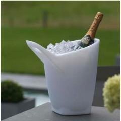 Seau à Champagne lumineux Effervescence