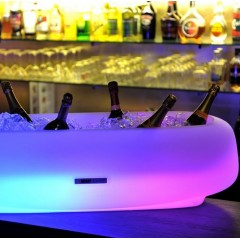 Seau à Champagne lumineux Salmanazar