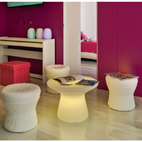 Table basse lumineuse design Capri 40