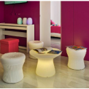 Table basse lumineuse design Capri 40