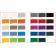 Tableau des couleurs