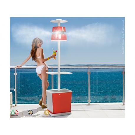 Brumisateur lumineux design Alba